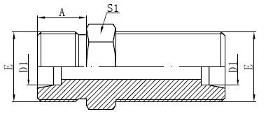 Crtanje metričkih priključaka pregrade