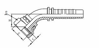 R1AT Sklop hidrauličkog crijeva