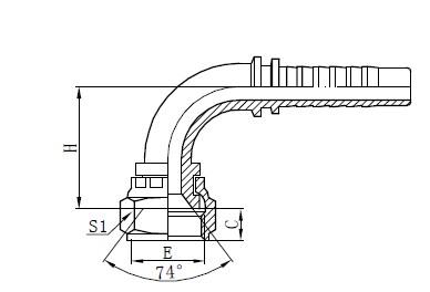 Sklop upletenih cijevi s dvije žice